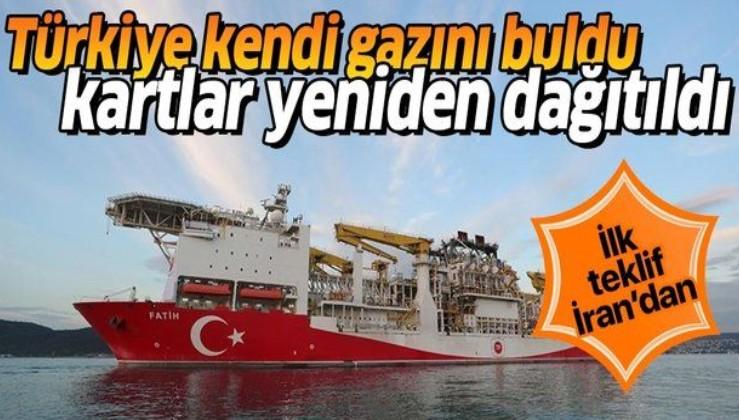 Türkiye kendi gazını buldu, kartlar yeniden dağıtıldı! İlk teklif İran'dan geldi