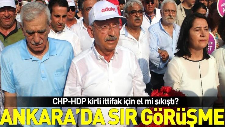 CHP'den 'Ahmet Türk ile gizli buluşma' açıklaması: Herkesle bir araya gelir...