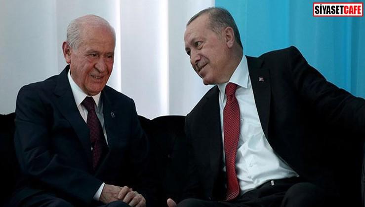 Erdoğan'ın o sözü Bahçeli'ye ağır geldi!