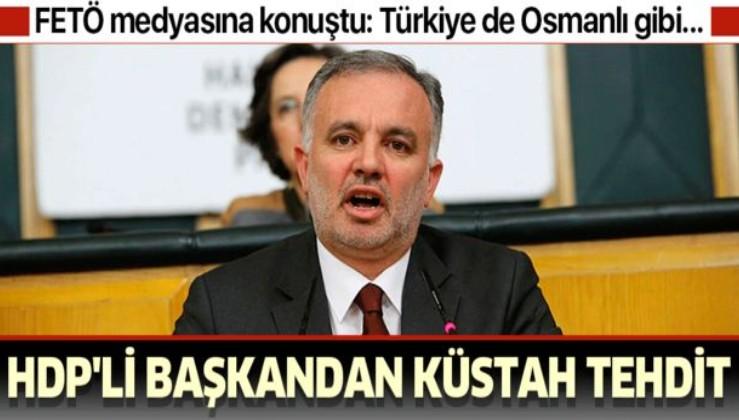 FETÖ medyasına konuşan HDP'li Bilgen'den küstah tehdit: Türkiye de Osmanlı gibi dağılacak!