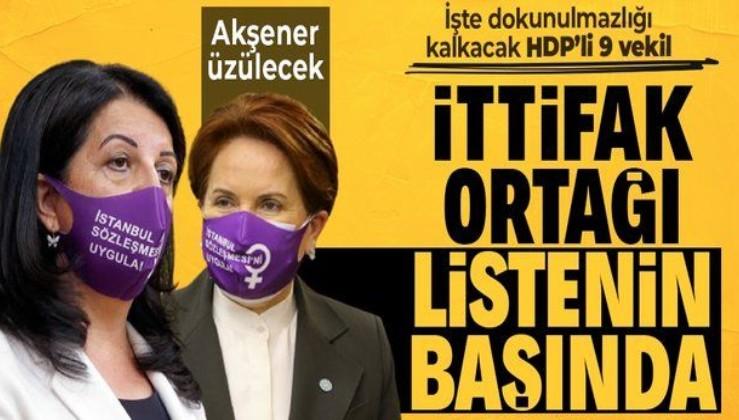 SON DAKİKA! HDP'li 9 vekil hakkında Kobani fezlekesi