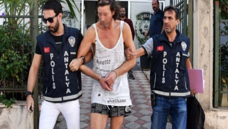 Alman turist aç kalınca villayı soydu