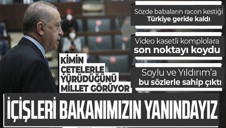 Cumhurbaşkanı Erdoğan:'Bu sinsi operasyonu akamete uğratacağız'