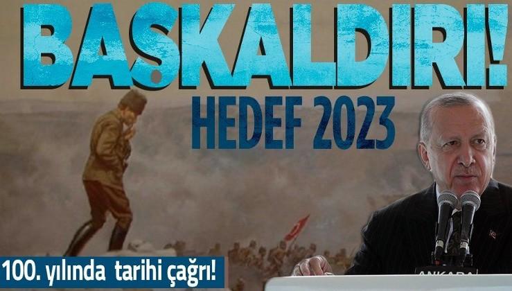 Cumhurbaşkanı Erdoğan: ''Kahramanlarımız isimlerini tarihe cesaretleri ve kanlarıyla kazımışlardır''