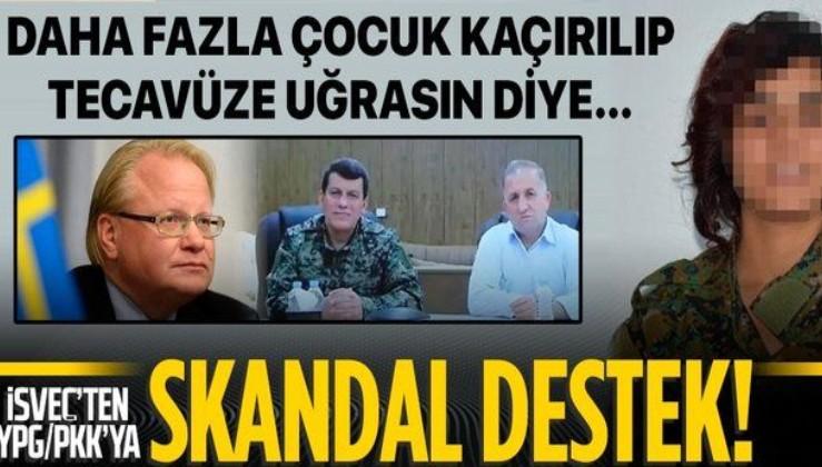 SON DAKİKA: Terör sevici İsveç'in Savunma Bakanı Hultqvist'ten YPG/PKK'ya skandal destek