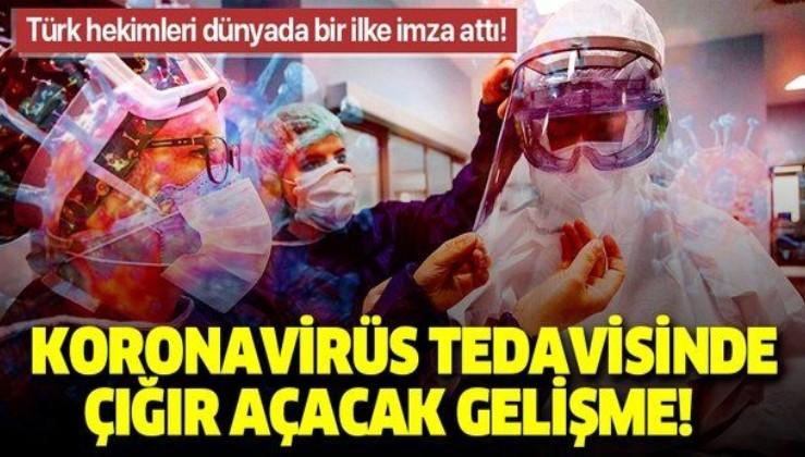 """Türk hekimleri başardı! Kovid-19 tedavisinde """"skorlama"""" çalışması"""
