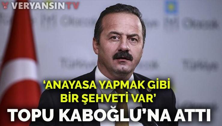 Yavuz Ağıralioğlu'ndan 'HDP' eleştirilerine yanıt: İbrahim Kaboğlu'nun anayasa yapmak gibi bir şehveti var