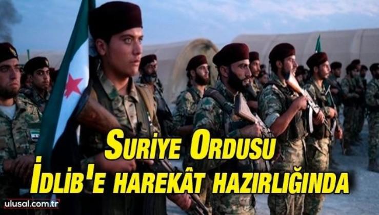 Suriye Ordusu İdlib'e harekât hazırlığında