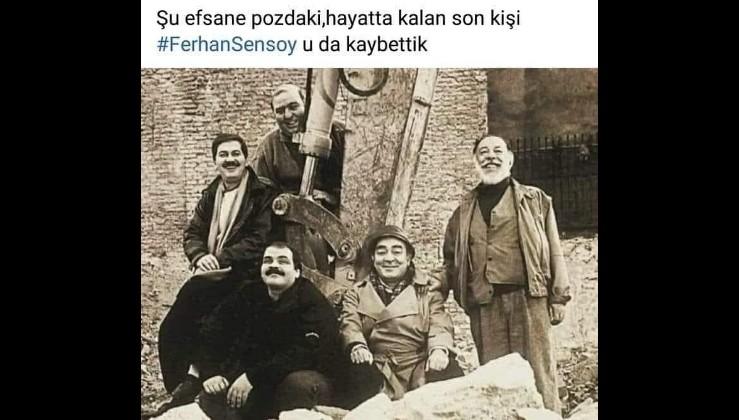 Ferhan Şensoy PKK'ya terör örgütü, Ermeni Soykırımı'na da palavra diyen anti emperyalist bir sanatçıydı.