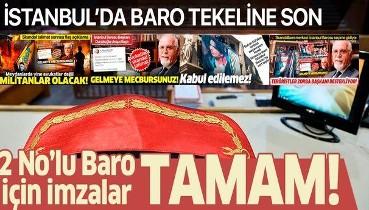İstanbul 2 No'lu Baro kuruluş için gerekli imzaya ulaştı