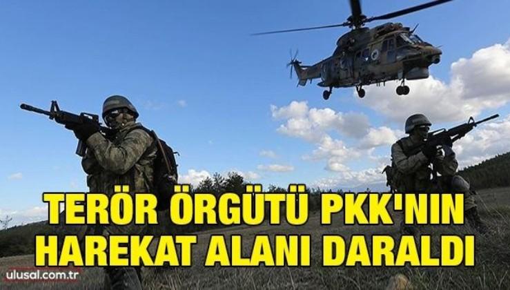 Terör örgütü PKK'nın harekat alanı daraldı