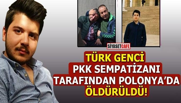 Türk genci HDP'liler tarafından Polonya'da...