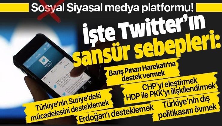 Twitter'dan ifade özgürlüğüne darbe! Binlerce hesap siyasal nedenlerle kapatıldı