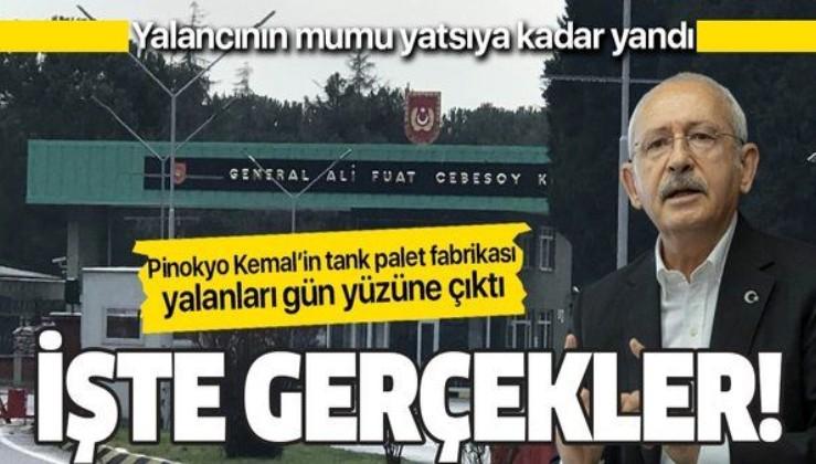 Kılıçdaroğlu'nun Sakarya Arifiye Tank Palet Fabrikası yalanları ve gerçekler!