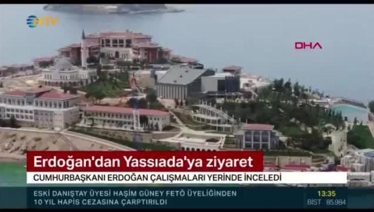 Erdoğan'ın Yassıada ziyaretinde NTV sunucusu Oğuz Haksever'in mikrofonu açık unutuldu: Neresi yaslı be, canına okumuşsun