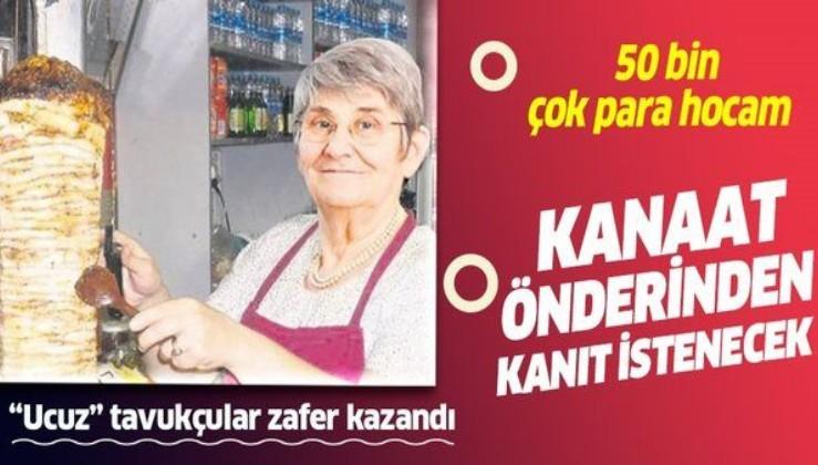 Prof. Dr. Canan Karatay kanıtlamadan 'Bunu yemeyin' derse ceza yiyecek