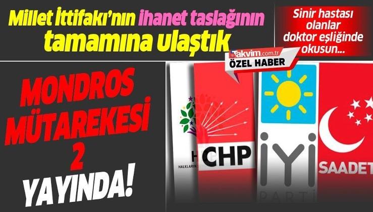 CHP, HDP, İYİ Parti, ve Saadet Partisi'nin Anayasa taslağının tamamına ulaşıldı