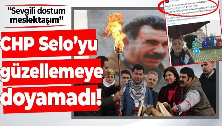 """CHP'li Sezgin Tanrıkulu'ndan terörist Demirtaş'a ziyaret! """"Sevgili dostum, meslektaşım"""" diye güzelleme yaptı"""