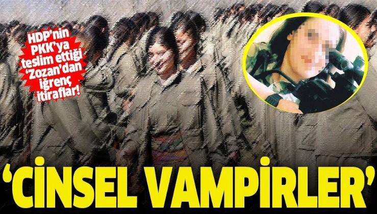 PKK'nın iğrenç yüzünü itiraf etti: 'Kandil'de bulunan örgüt yöneticileri cinsel vampirler'