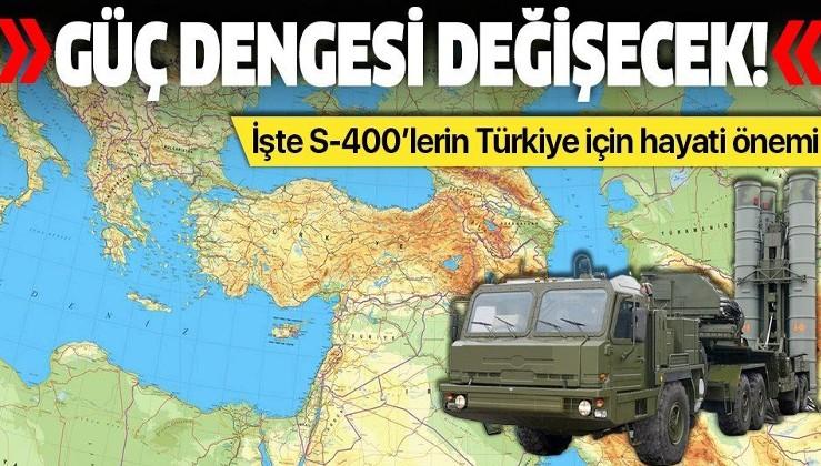 """""""Türkiye'nin satın aldığı S-400'ler bölgedeki güç dengesini değiştirecek""""."""
