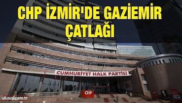 CHP İzmir'de Gaziemir çatlağı