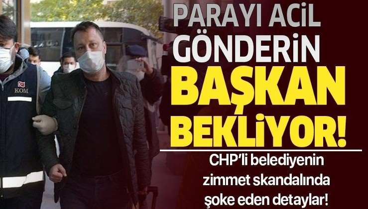 """CHP'li Menemen Belediyesi'ndeki zimmet skandalının detayları belli oldu! """" Acil ödeyin başkan para bekliyor"""""""