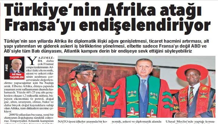 Türkiye'nin Afrika atağı Fransa'yı endişelendiriyor