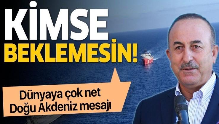 SON DAKİKA: Bakan Çavuşoğlu'ndan 'KKTC' açıklaması: Kıbrıs Türkü artık sırf müzakere etmek için masaya oturmayacaktır