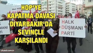 HDP'ye kapatma davası Diyarbakır'da sevinçle karşılandı