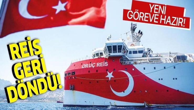Oruç Reis, Antalya Limanı'ndan ayrıldı! Yeni görevine hazır