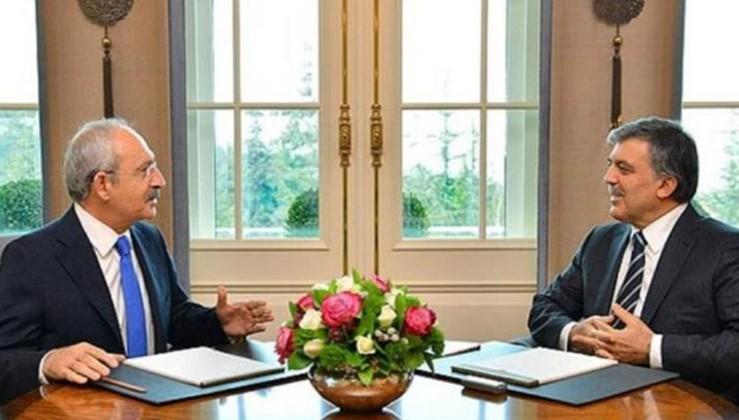 'Kemal Kılıçdaroğlu Abdullah Gül'le görüştü'