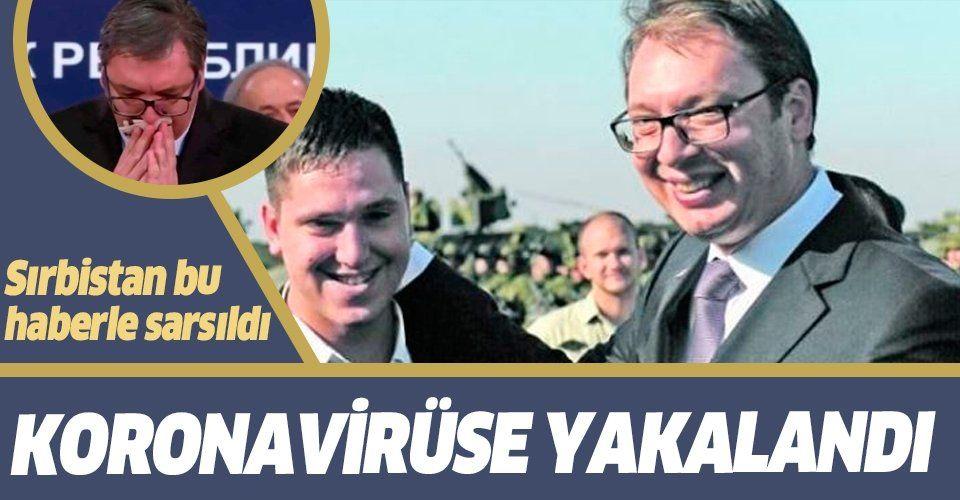 Son dakika: Sırbistan Cumhurbaşkanı Vucic'in oğlu koronavirüse yakalandı!