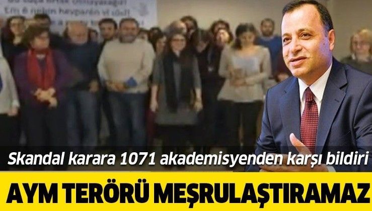 1071 akademisyenden AYM'nin 'hak ihlali' kararına tepki: Anayasa Mahkemesi terörü meşrulaştıramaz.