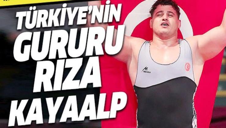 Milli güreşçimiz Rıza Kayaalp dünya şampiyonu oldu.