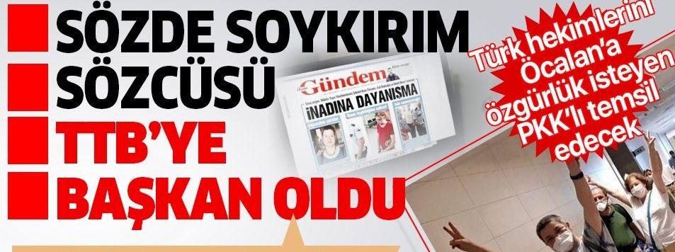 Türk Tabipleri Birliği'nin yeni başkanı PKK sevici, sözde soykırım sözcüsü Şebnem Korur Fincancı oldu! İşte kirli sicili