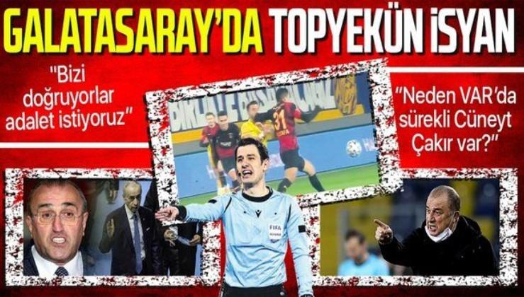 Galatasaray'da topyekün isyan!