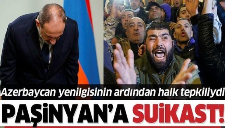 SON DAKİKA: Ermenistan başbakanı Paşinyan'a suikast!