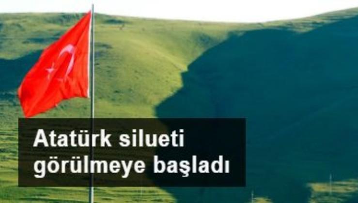 Atatürk Karadağlar'da görüldü