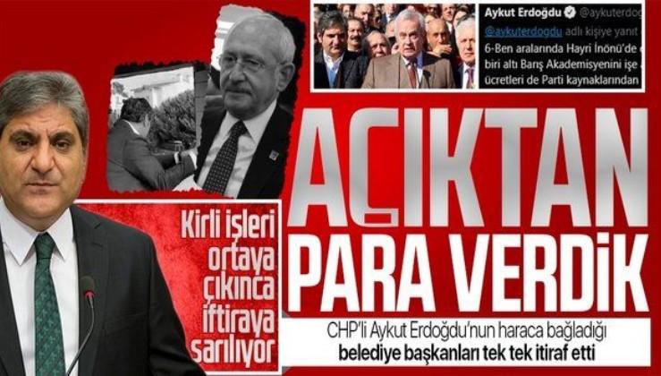 Aykut Erdoğdu'nun haraca bağladığı belediye başkanları konuştu: Kendisine açıktan para verdik