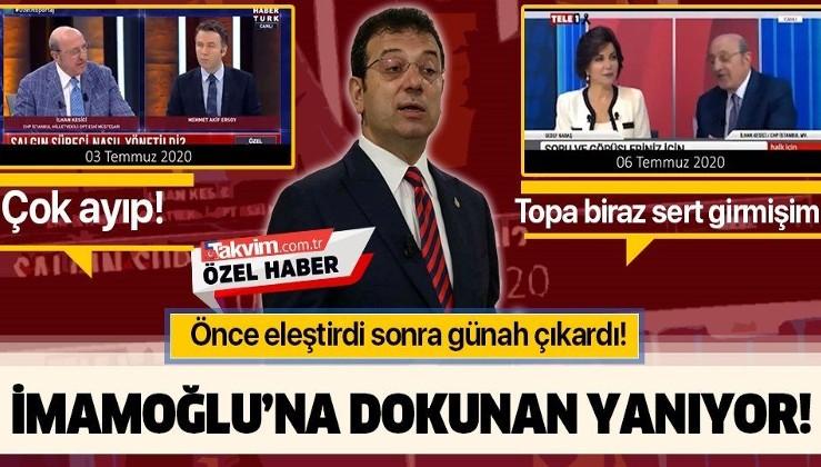 İmamoğlu'na dokunan yanıyor! CHP'li İlhan Kesici Fatih portresi üzerinden önce eleştirdi sonra TELE1'de günah çıkardı!