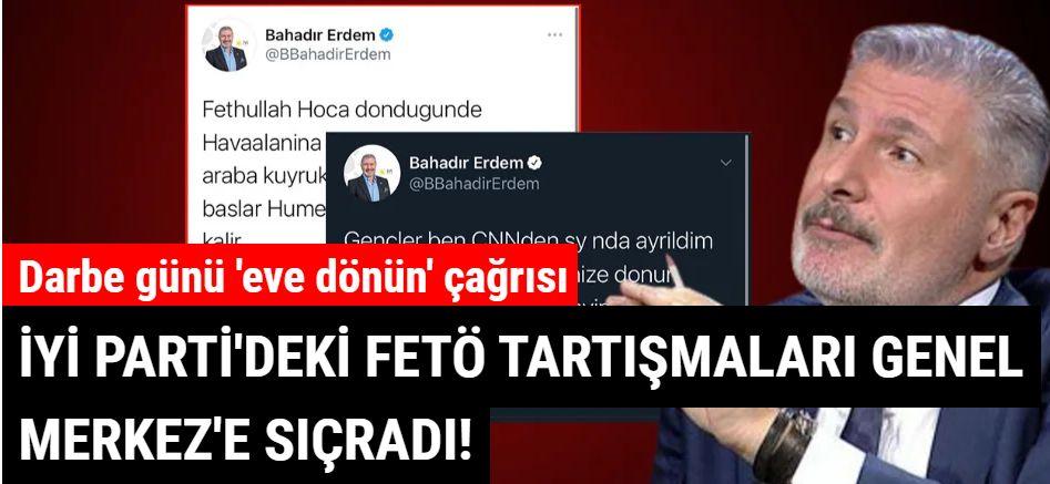 Ümit Özdağ yeni bombayı patlattı: İyi Parti Genel Başkan Yardımcısının FETÖ tweetleri
