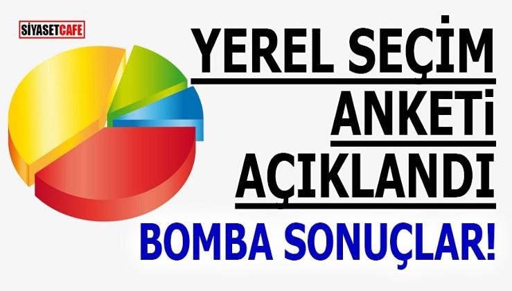 Yerel Seçim anketi açıklandı! Bomba sonuçlar