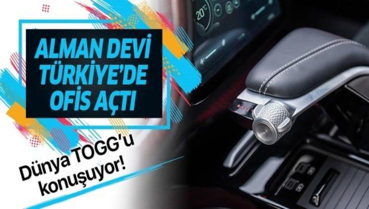 Yerli otomobil TOGG ilgiyi artırdı: Dünya devi Türkiye'de ofis açtı