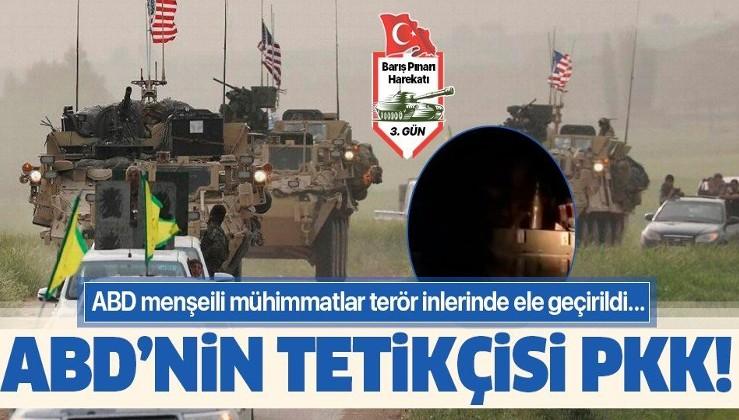 ABD'nin tetikçisi PKK! ABD menşeili mühimmatlar PKK inlerinde ele geçirildi….