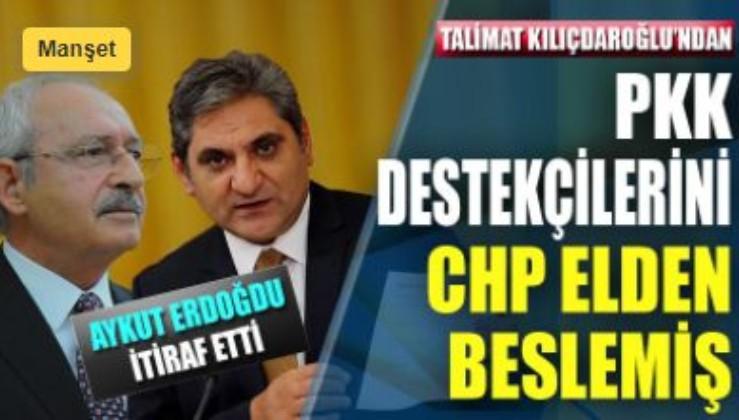 Aykut Erdoğdu itiraf etti: PKK destekçilerine CHP elden beslemiş