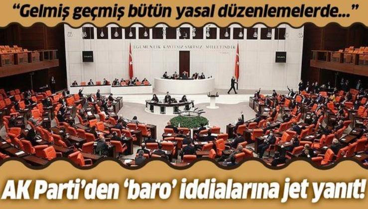 """AK Parti Grup Başkanvekili Cahit Özkan'dan """"baro"""" iddialarına yanıt: Usule aykırı hareket edilmemiştir"""
