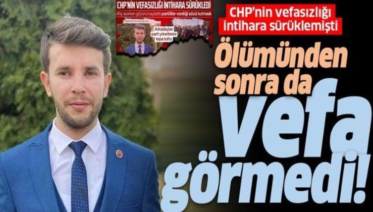 İntihar eden CHP'li genç Tugay Adak'ın borcunu arkadaşları ödedi