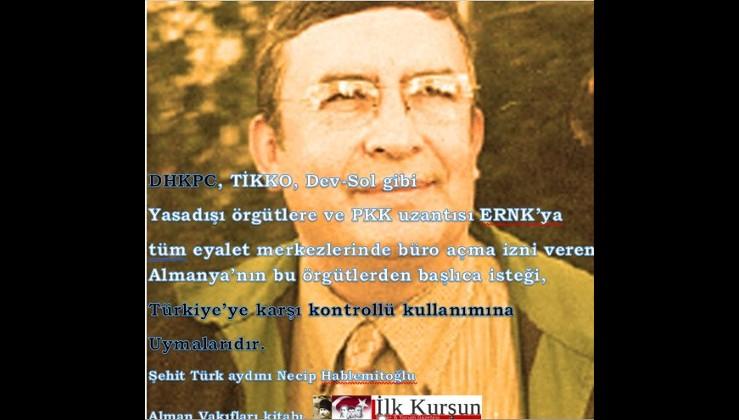 Terörist arkasından ağlayanlara Necip Hablemitoğlu'ndan ders!