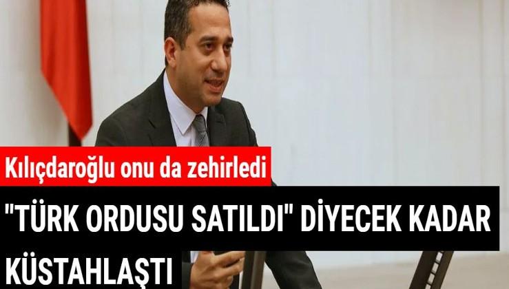Kılıçdaroğlu'nun vekili Türk ordusuna saldırdı, stüdyo karıştı