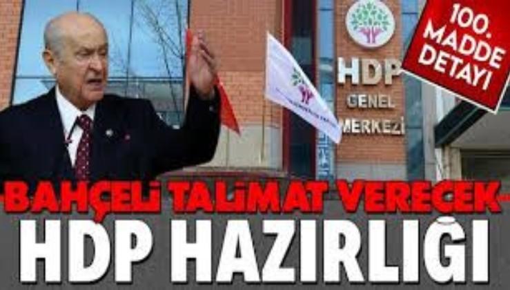 SON DAKİKA: MHP HDP'nin kapatılması için başvuru yapmaya hazırlanıyor